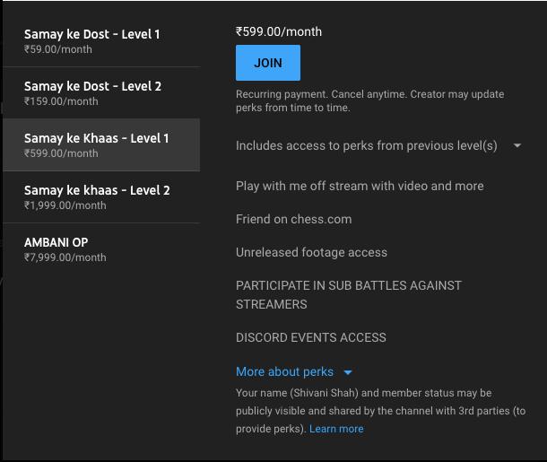 How to enable monetization on YouTube, memberships