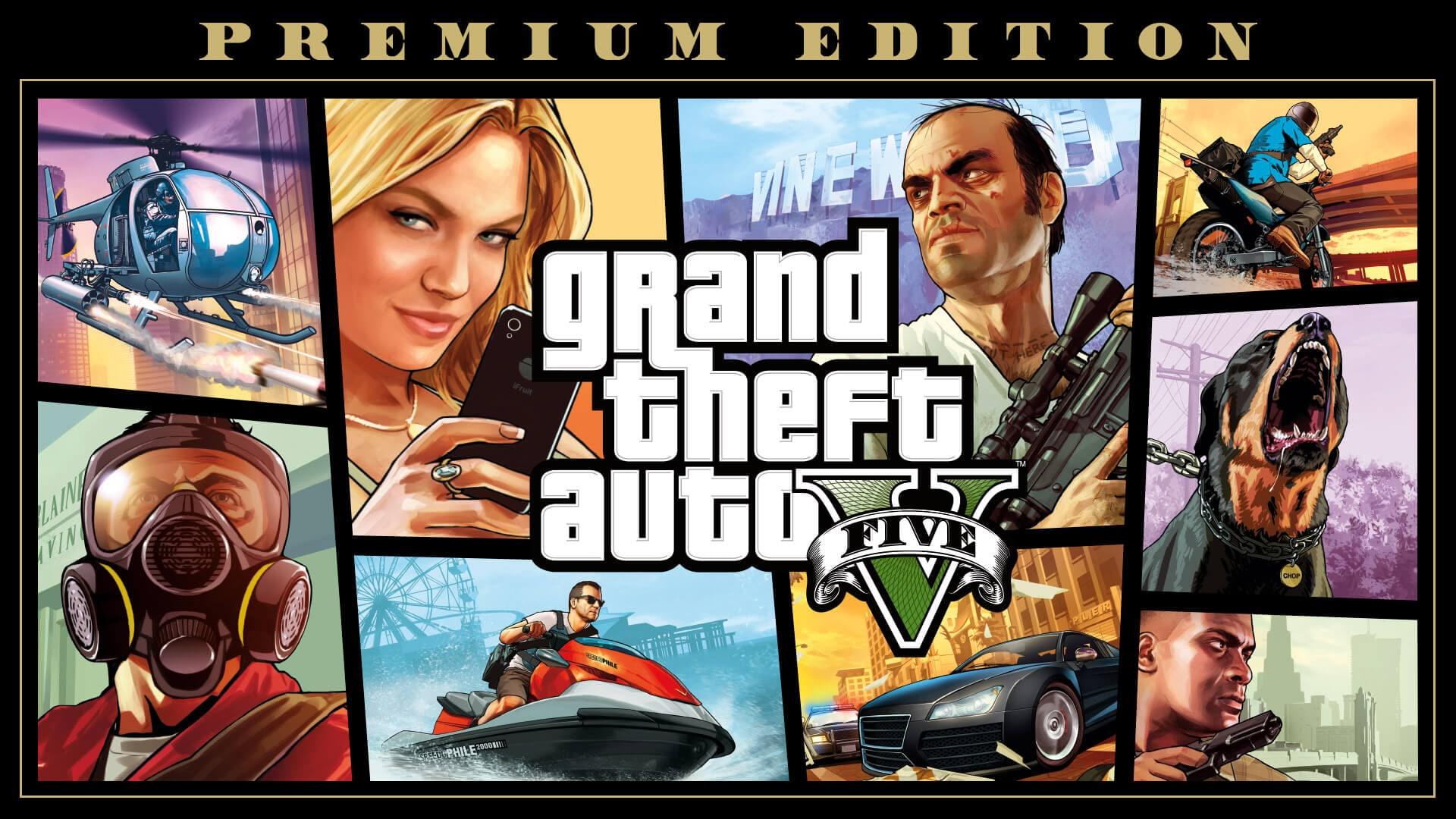 Best streaming games - GTA V
