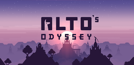 Best casual games - Alto's Odyssey