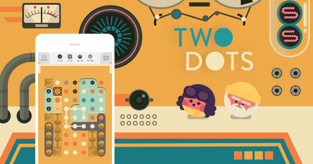 Best casual games - Two dots