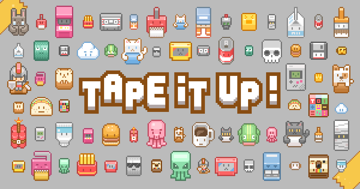 Best casual games - Tape it up