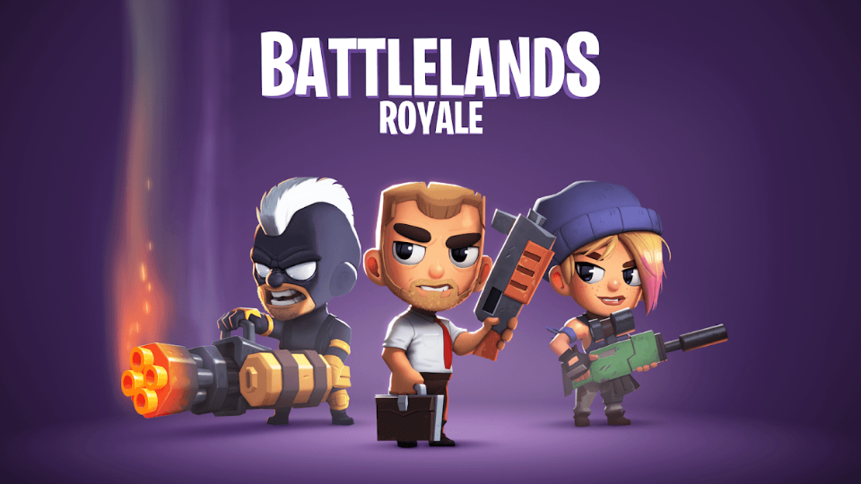 Best casual games-Battlelands royale