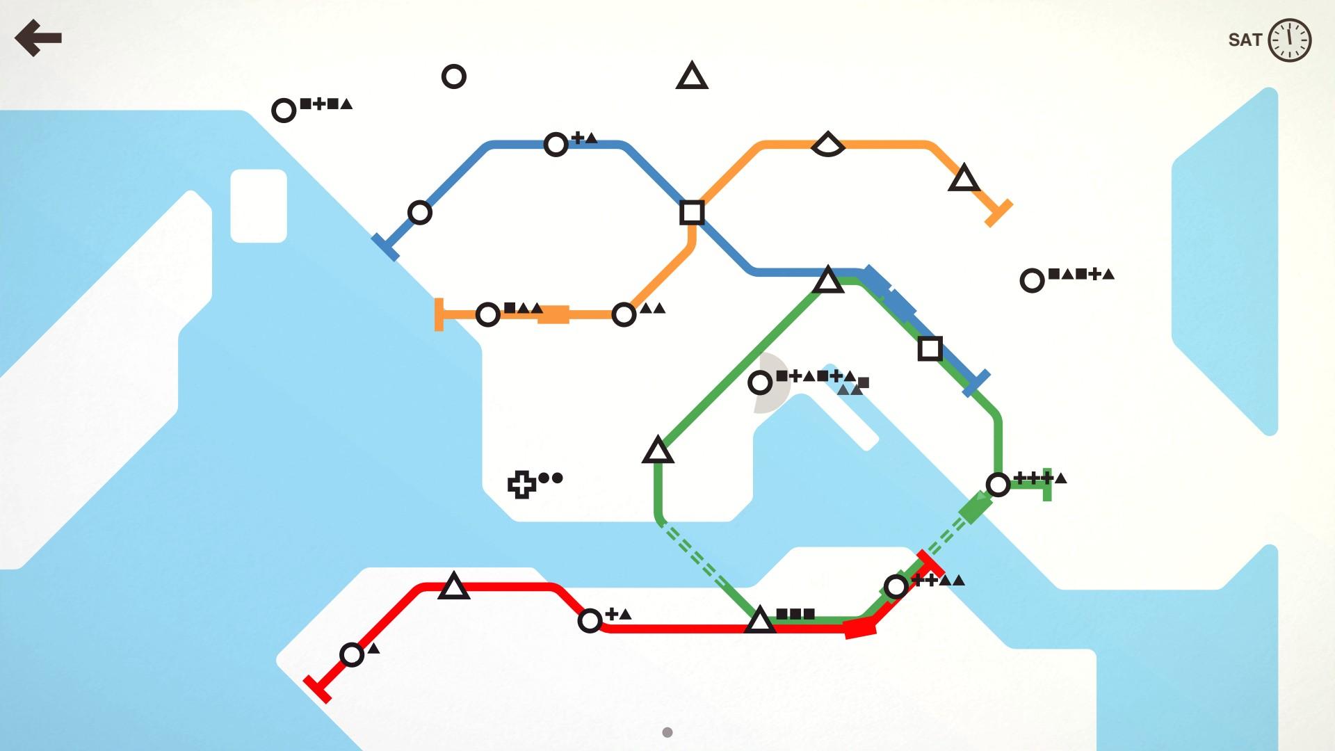Best casual games-Mini metro