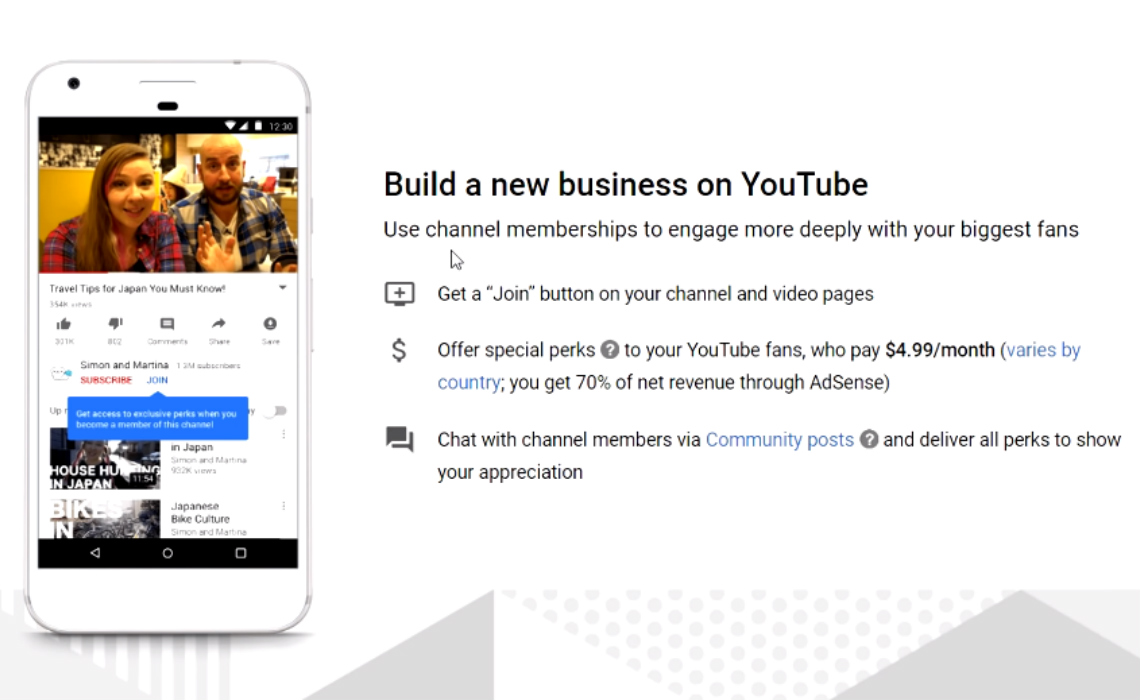 YouTube Channel Membership Rules